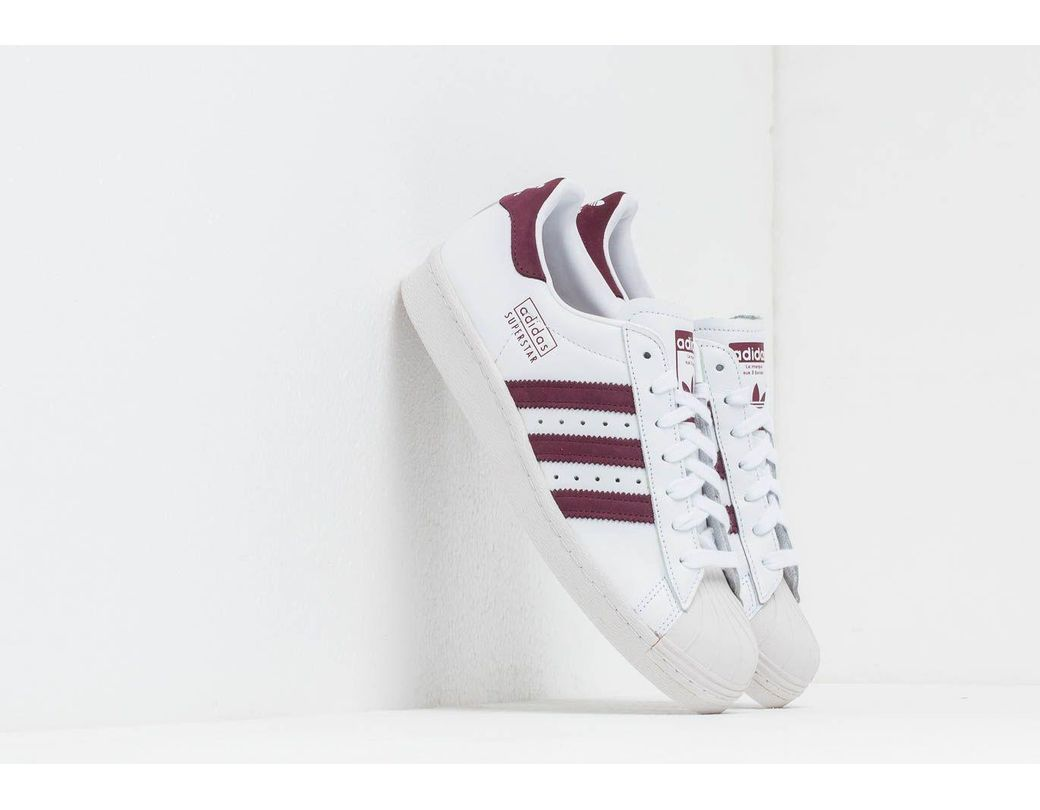 Adidas Originals Superstar 80's Leather Sneakers In White