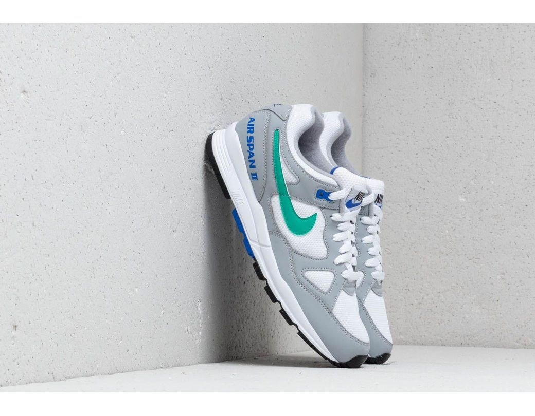 f657461200d25 Lyst - Nike Air Span Ii Wolf Grey  Clear Emerald-white in Gray for Men