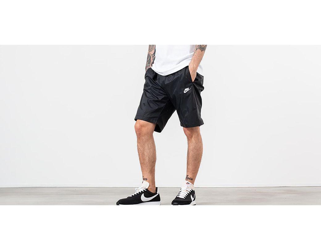 a50a58d382210 Lyst - Nike Sportswear Woven Shorts Black in Black for Men
