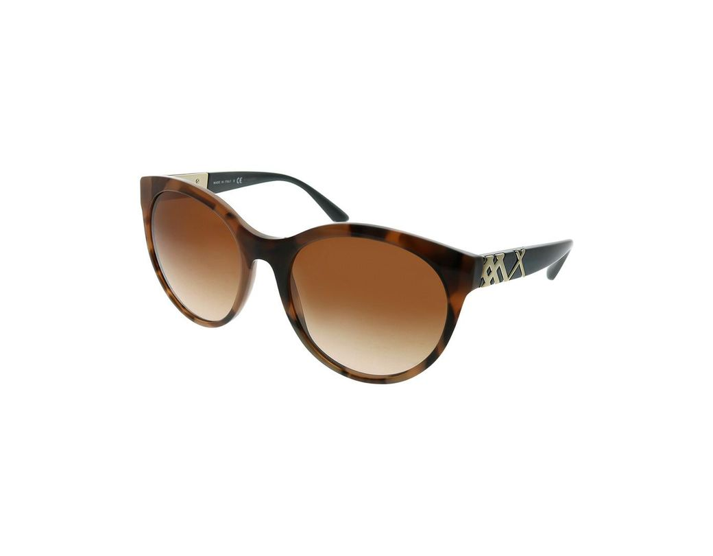 5f44af321051 Burberry Women's Cat-eye 56mm Sunglasses in Brown - Save 58% - Lyst