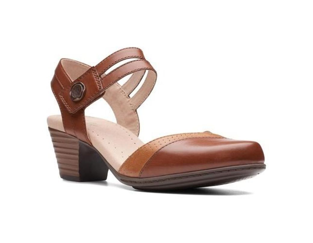 5247684a230c Lyst - Clarks Valarie Rally Sandals in Brown - Save 20%