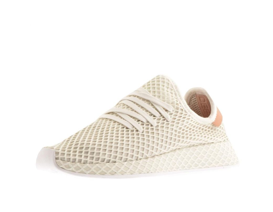 e230a6bb0 Lyst - adidas Originals Deerupt Runner Trainers Cream in Natural for Men
