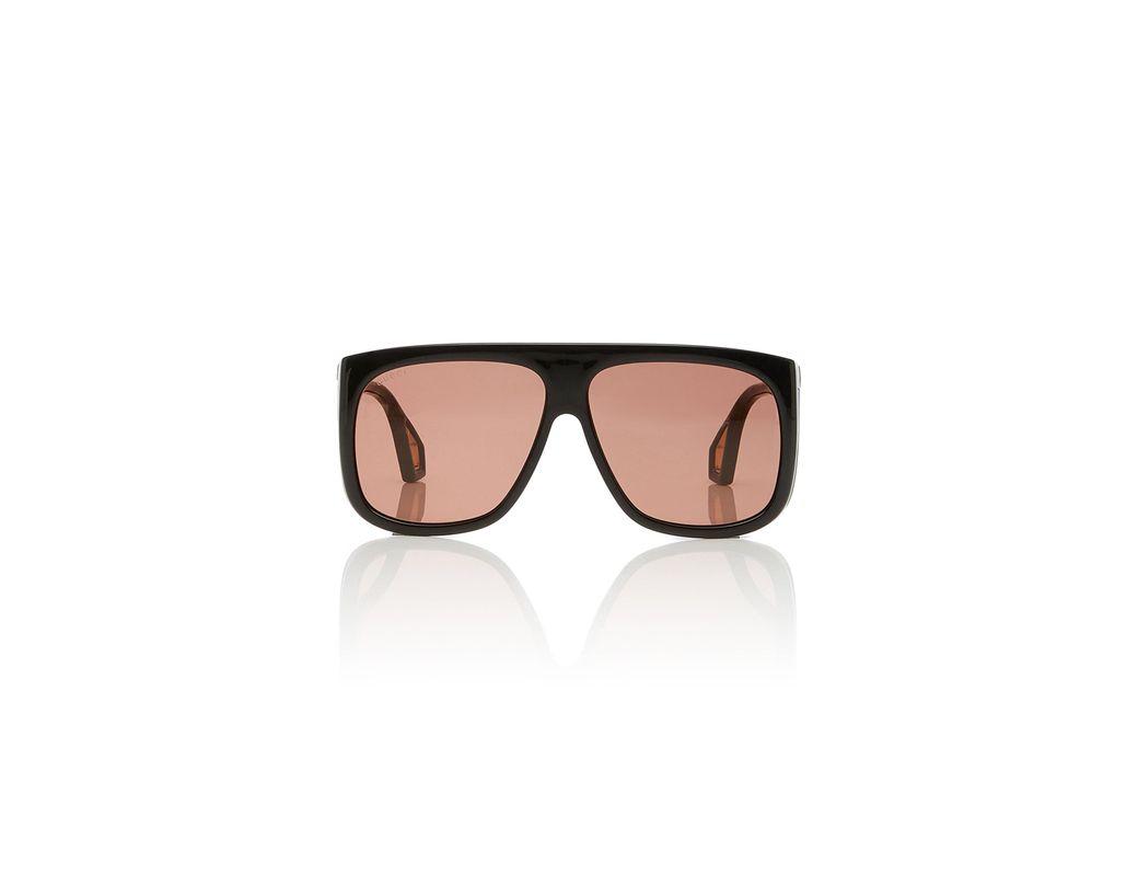 cbdd8d3825 Lyst - Gucci Square-frame Acetate Sunglasses in Black