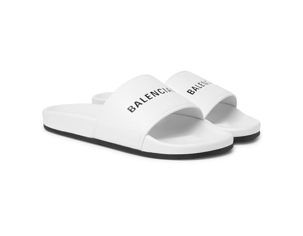 077a9ca7dec14 Balenciaga Sandals in White for Men - Save 55% - Lyst