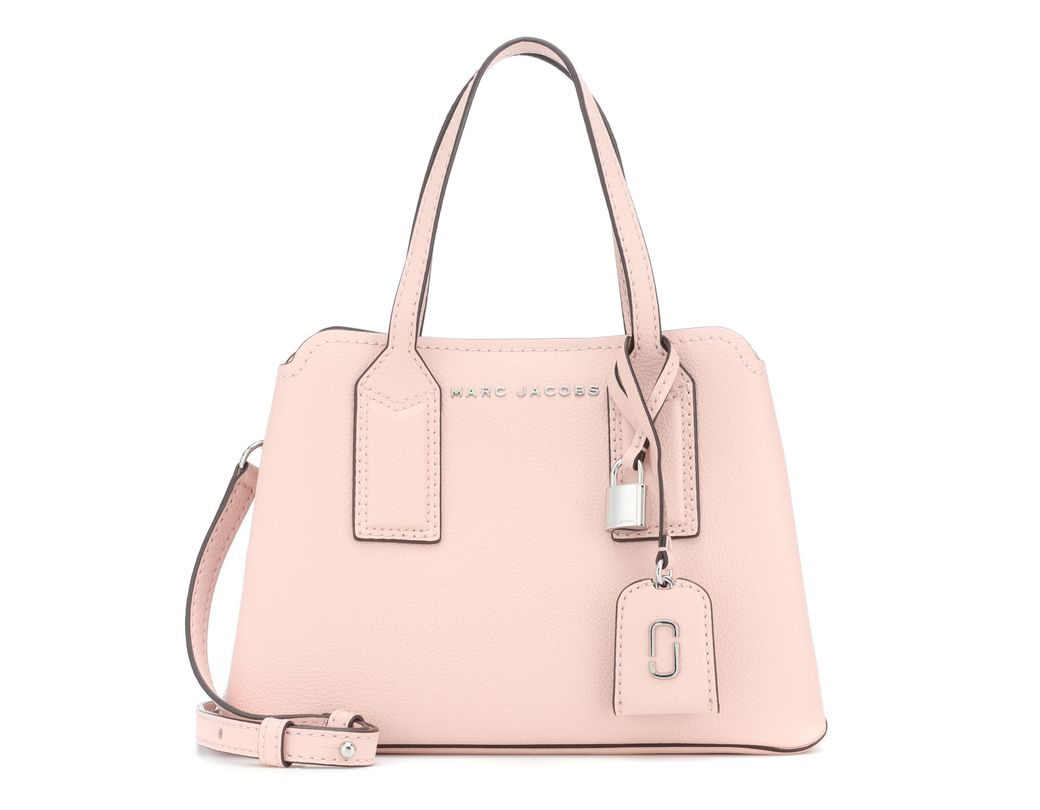 e785bd9a911d Lyst - Marc Jacobs The Editor 29 Leather Crossbody Bag in Pink