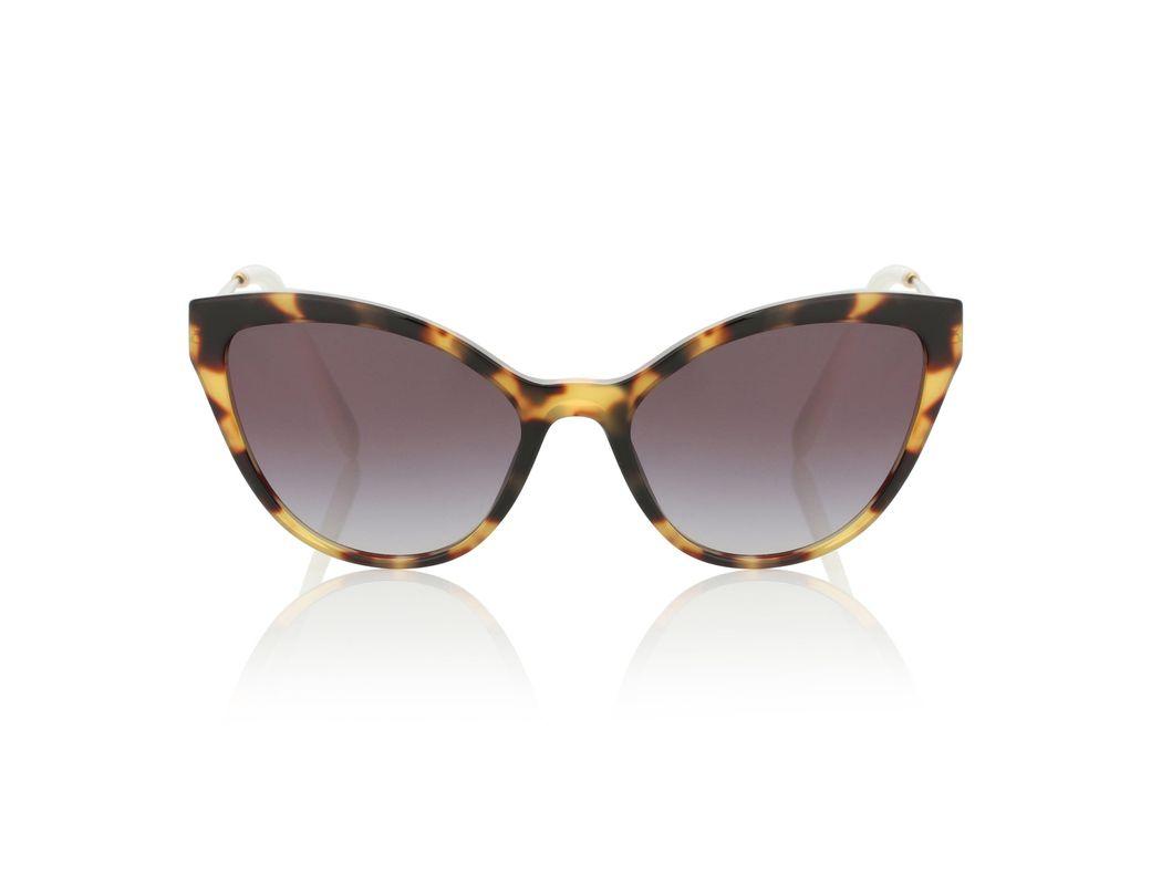 0d3c1ae245 Gafas de sol cat-eye Miu Miu de color Marrón - Lyst