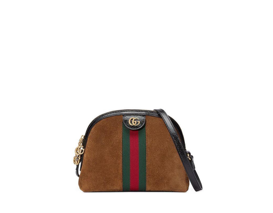 70eb4f914 Gucci Suede Brown Bag