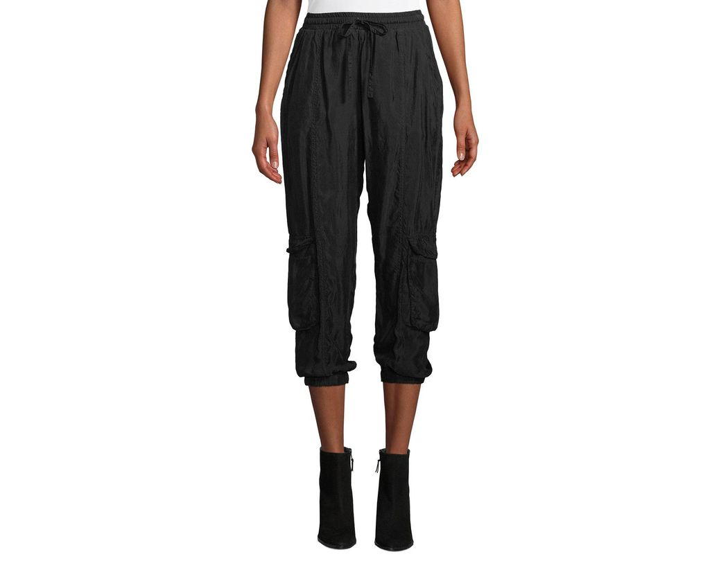 8bf88b42a2b83 Lyst - Johnny Was Rambling Pull-on Cargo Pants in Black