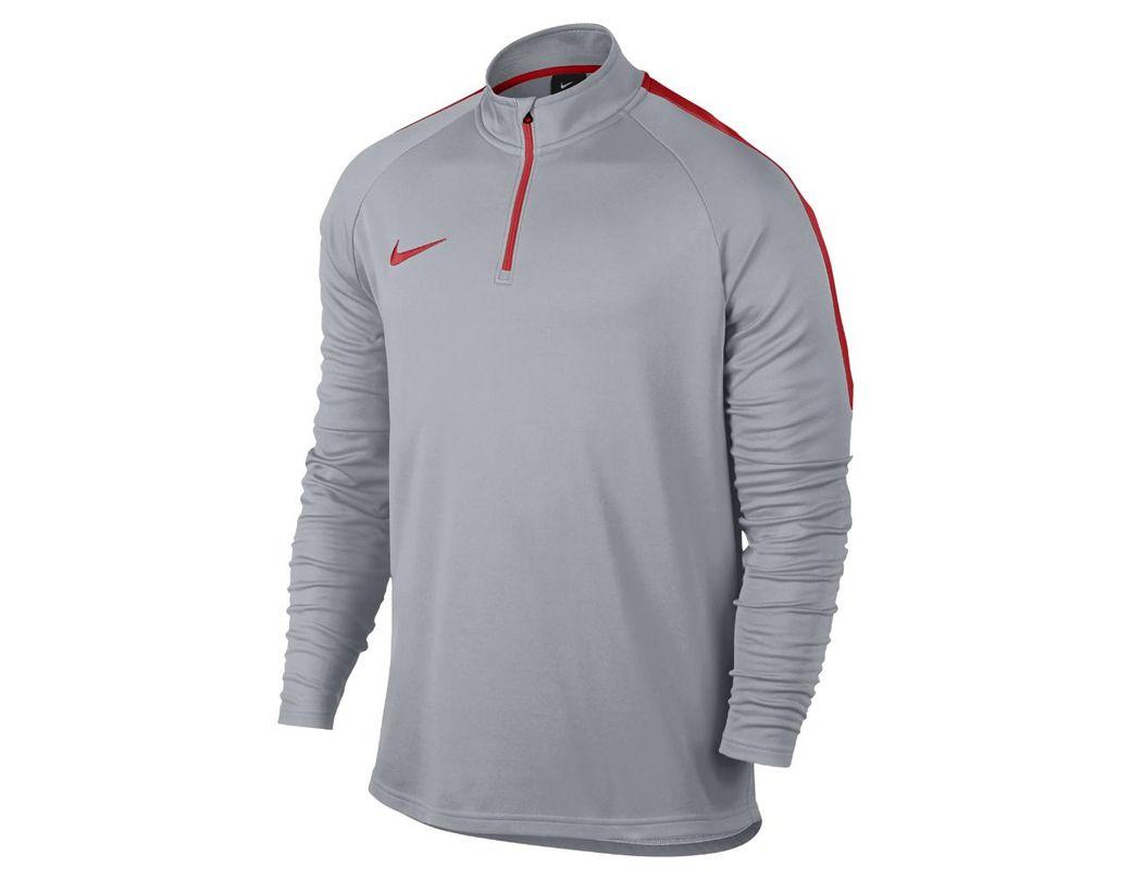 07c94c9ee99f7 Lyst - Nike Dri-fit Academy Men s 1 4 Zip Soccer Drill Top in Gray for Men