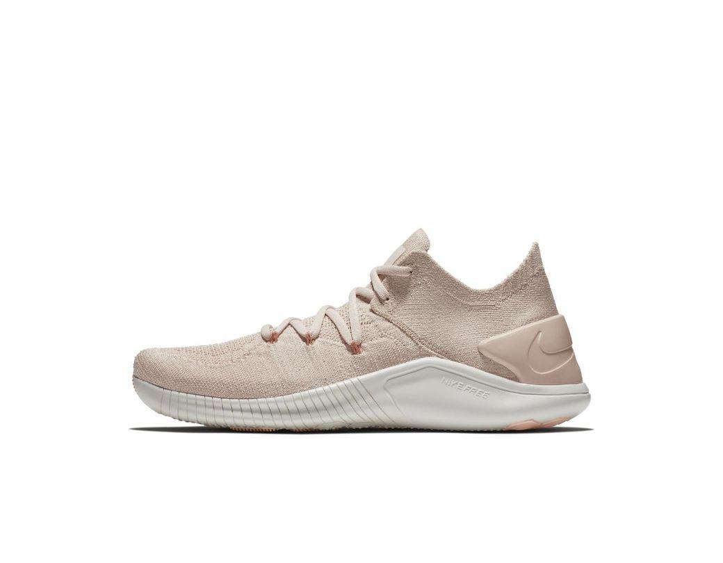 15e2c70460da Lyst - Nike Free Tr Flyknit 3 Women s Training Shoe in Natural