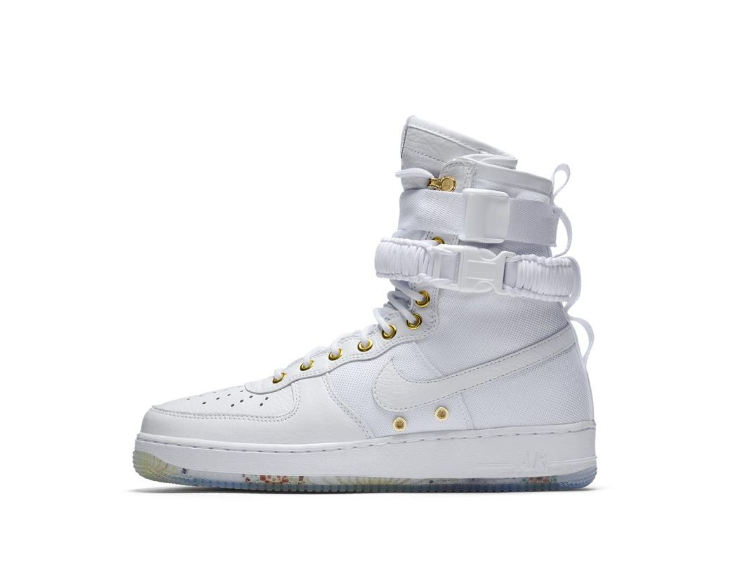 save off 77b5f 937dd Lyst - Nike Sf Air Force 1 Lny Qs Men s Shoe in White for Men