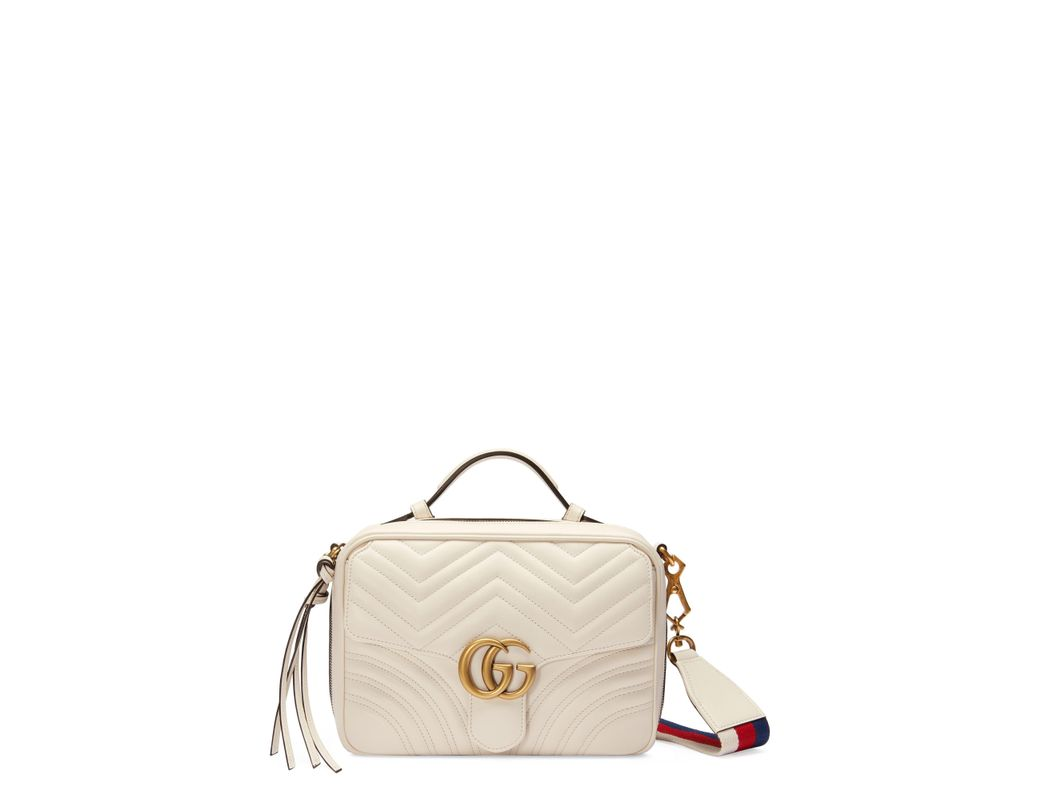 83f5579d785 Long-Touch to Zoom. Long-Touch to Zoom. 1  2. Gucci - Multicolor Small Gg  Marmont 2.0 Matelassé Leather Camera Bag ...