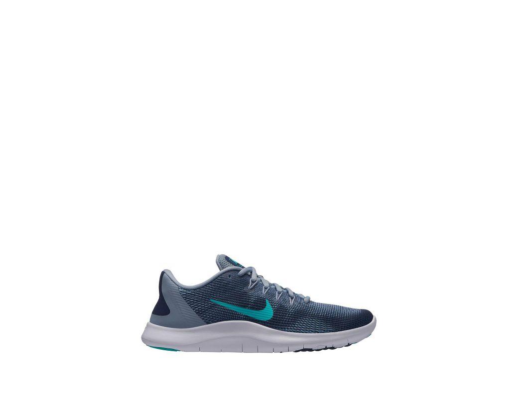 4d67ed6c17d7 Lyst - Nike Flex Rn 2018 Mesh Sneaker in Blue - Save 22%