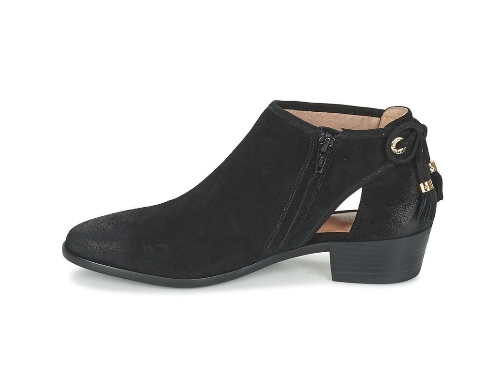 Michael Bootie Jennings Mid In Kors Flat Lyst Boots Black htsQrd