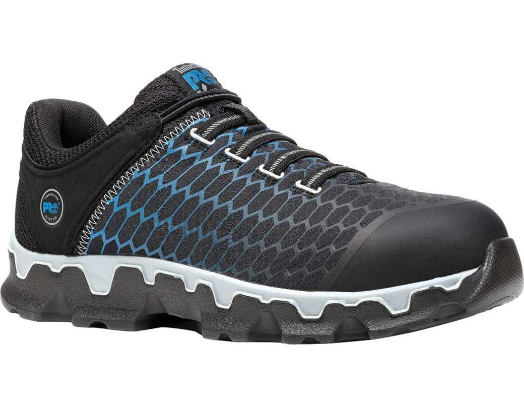06990ffb9b Timberland Powertrain Sport Alloy Toe Eh Work Shoe in Black for Men - Save  2% - Lyst