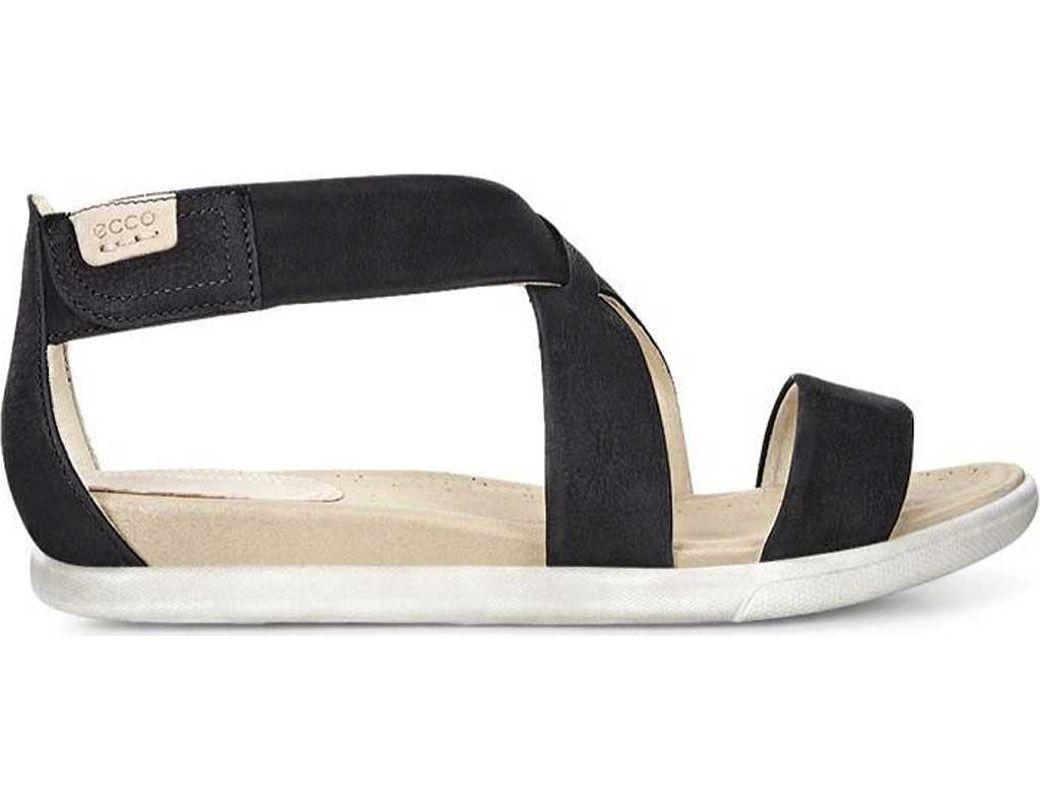 72ab1659d93a Lyst - Ecco Damara Strap Sandal in Black