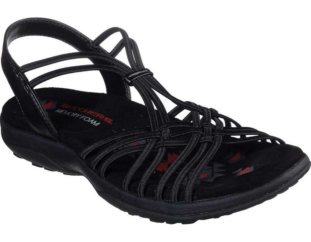 242d50751 Lyst - Skechers Reggae Slim - Slip Spliced (black) Women s Sandals ...