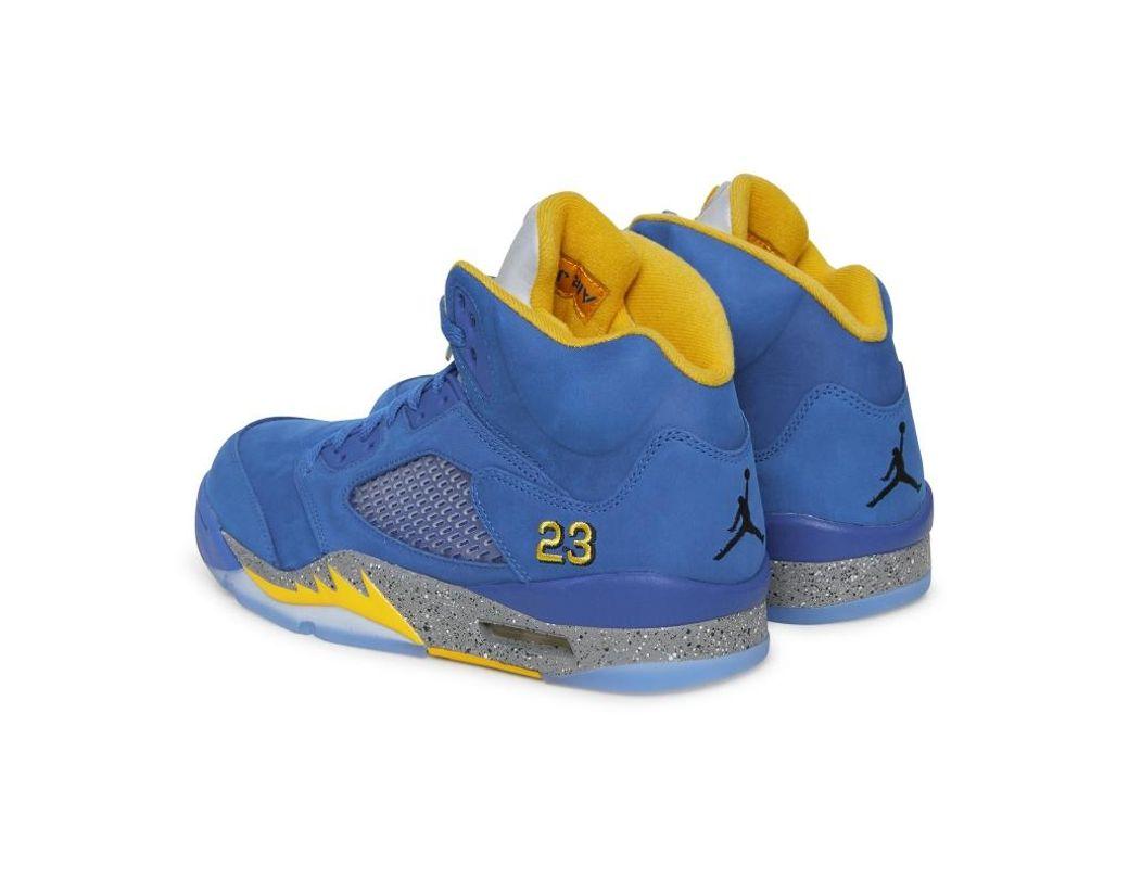 d6ac5aa57ac Nike Air Jordan 5 Laney Jsp Shoe in Blue for Men - Save 31% - Lyst