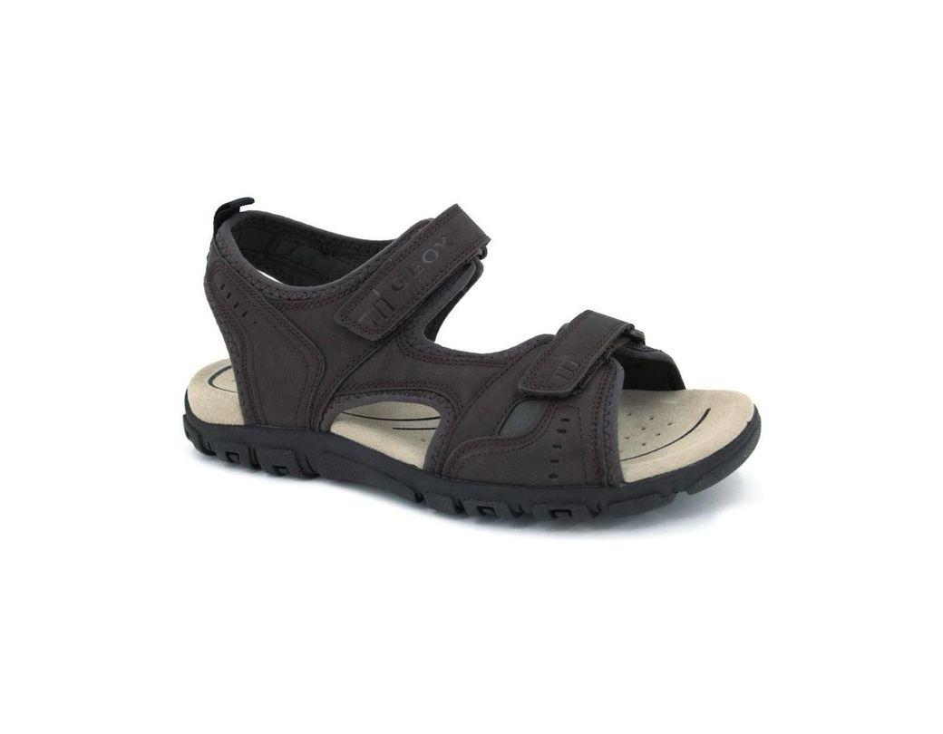 406825defe4f Geox U S.strada A U4224a Men ́s Sandals Men s Sandals In Brown in ...