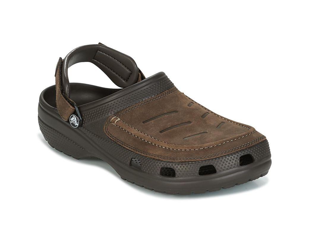 e3b11fde132db Crocs™ Yukon Vista Clog Men's Clogs (shoes) In Brown in Brown for Men - Lyst