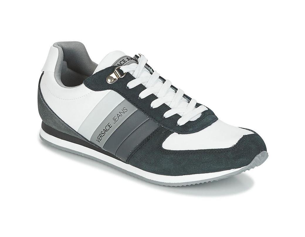 d8db630fb6915e Basket Linea Fondo Running hommes Chaussures en blanc Versace pour homme en  coloris Blanc - 25 % de réduction - Lyst