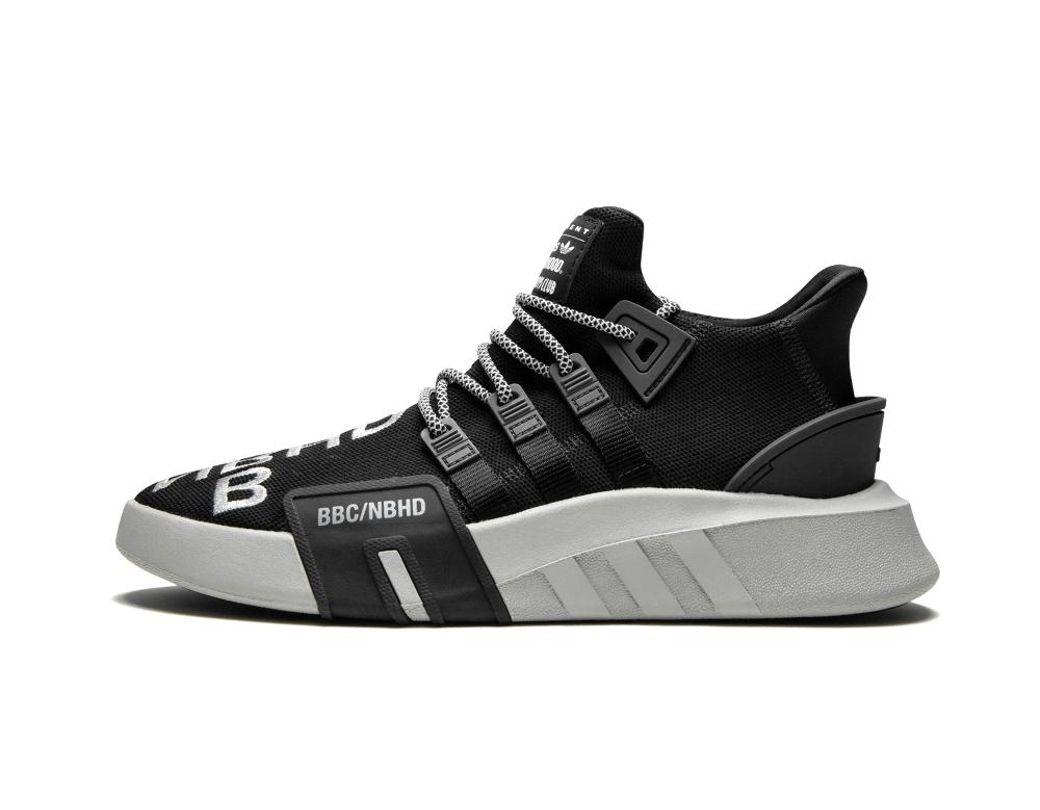 2d5b83aa2d792 Lyst - adidas Eqt Bask Adv Nbhd Core Black gretwo  nbhd X Bbc X   in Black  for Men