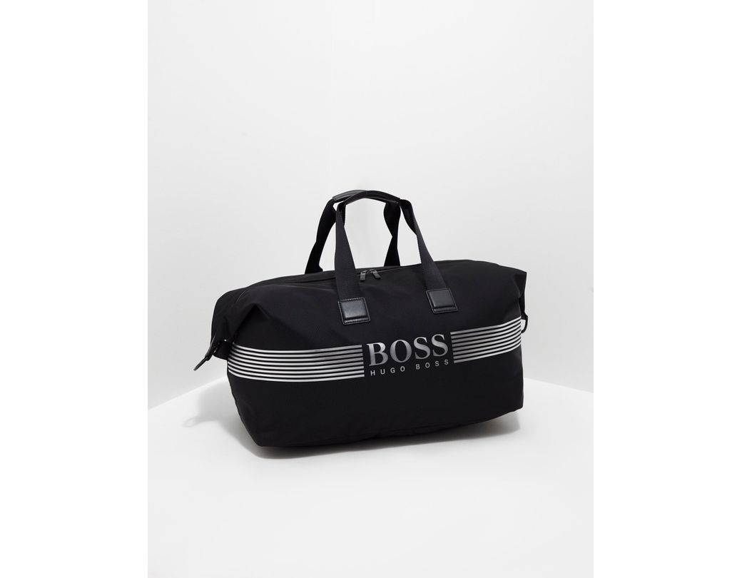 2fb4044e5 BOSS Pixel Holdall in Black for Men - Lyst