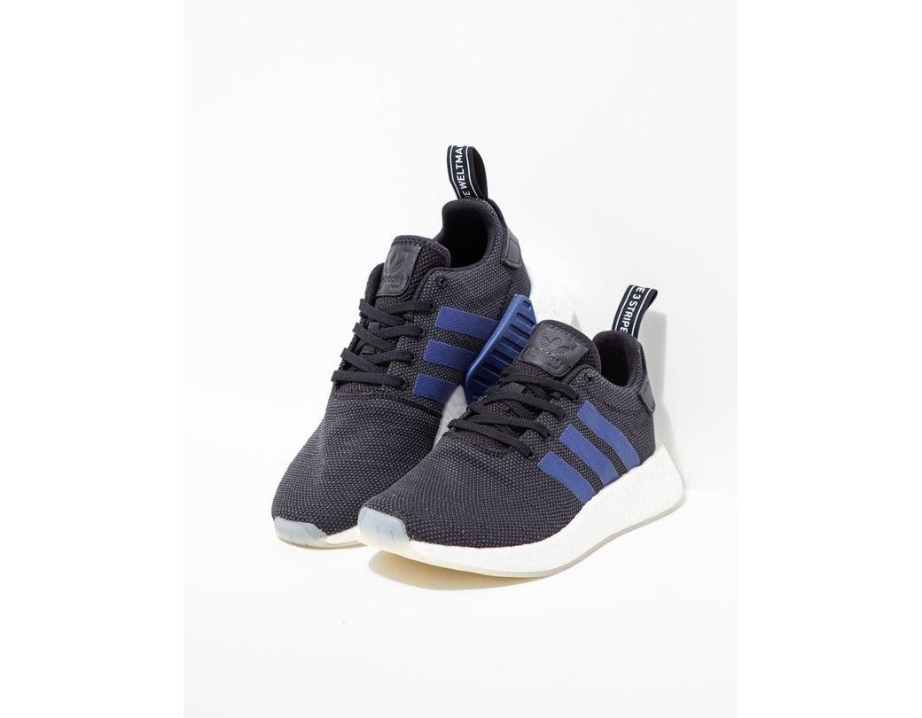 4b92f794ecb0f adidas Originals Nmd R2 Women s Black in Black - Lyst