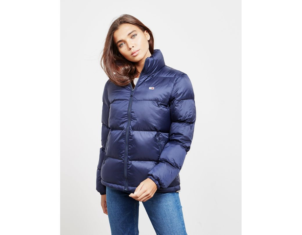 e3a80d7b Tommy Hilfiger Padded Jacket Navy Blue in Blue - Lyst