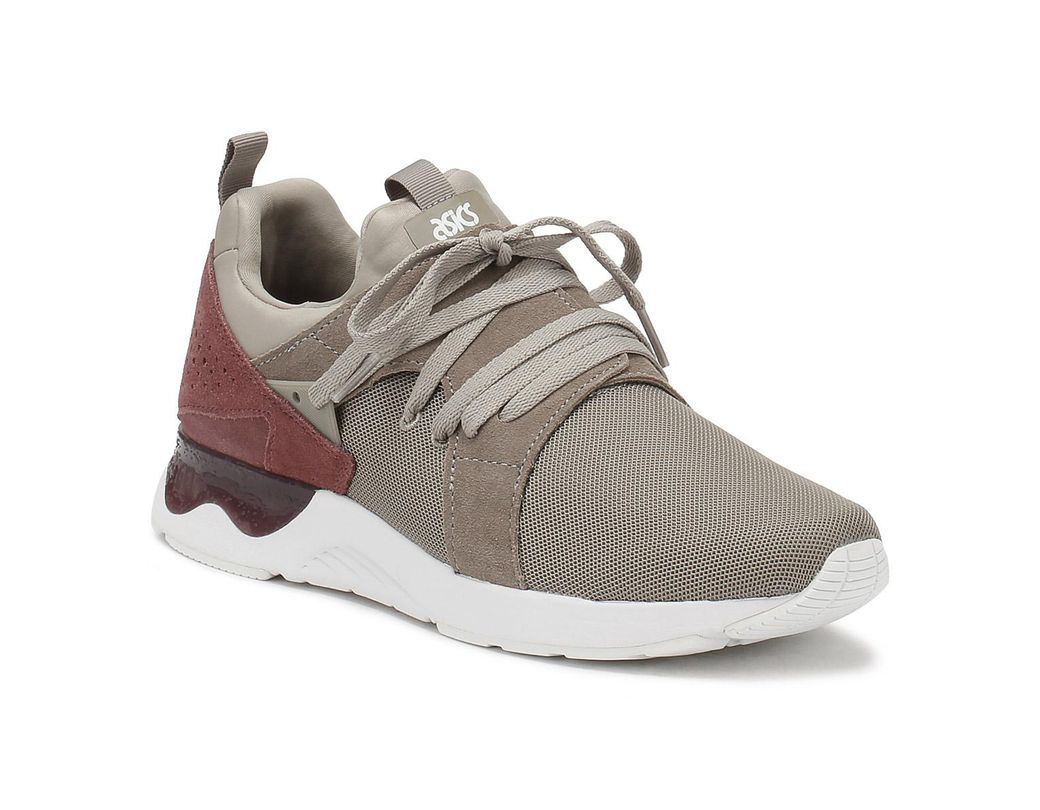 b50ee4a6dcc Lyst - Asics Mens Moon Rock   Rose Taupe Gel-lyte V Sanze Trainers ...