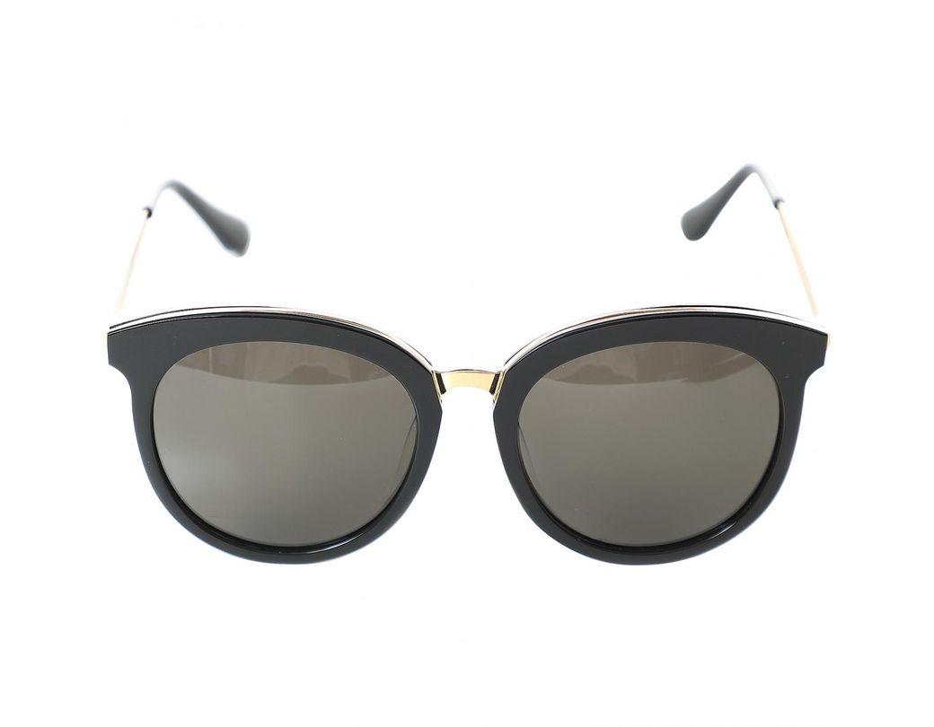 ee38b959538a6 Gentle Monster Black Plastic Sunglasses in Black - Save 3% - Lyst