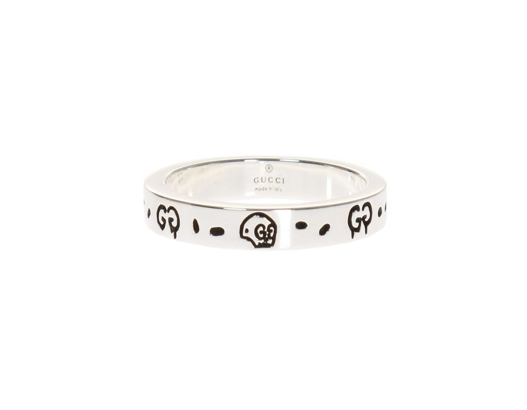 35d96175bce Lyst - Gucci  ghost  Ring in Metallic