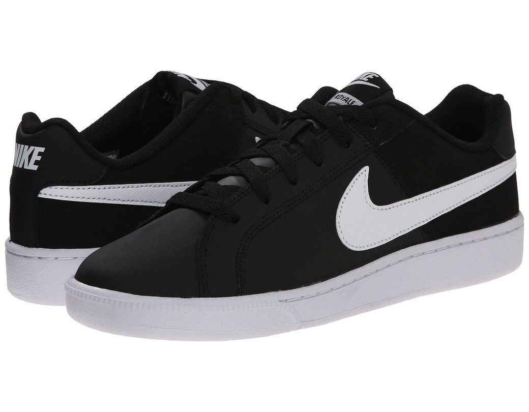 info for c82d5 4e589 Nike Court Royale (white white rose Gold) Women s Classic Shoes in Black -  Lyst