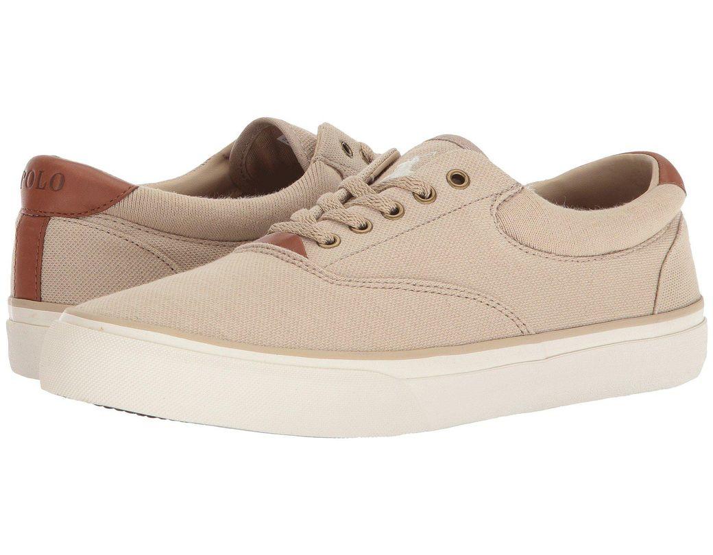 48e3f223e0524 Lyst - Polo Ralph Lauren Thorton Ii Sneaker in Natural for Men ...