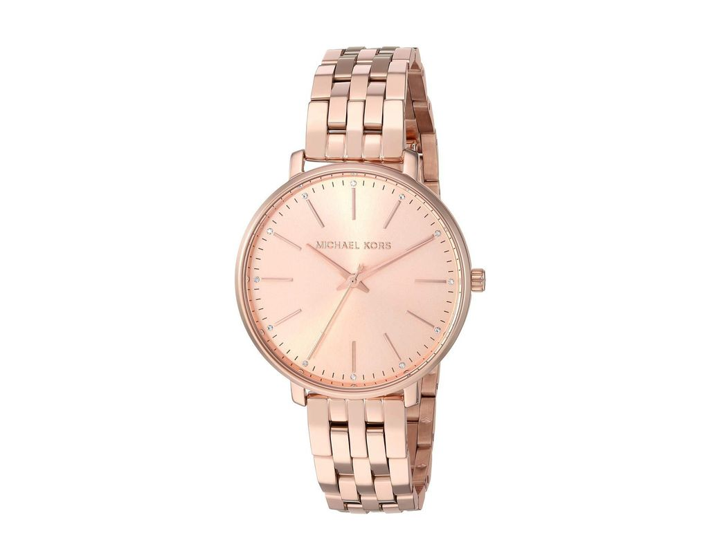 9f551649689a Long-Touch to Zoom. Long-Touch to Zoom. 1  2  3. Michael Kors - Multicolor  Pyper - Mk3897 (rose Gold) Watches ...