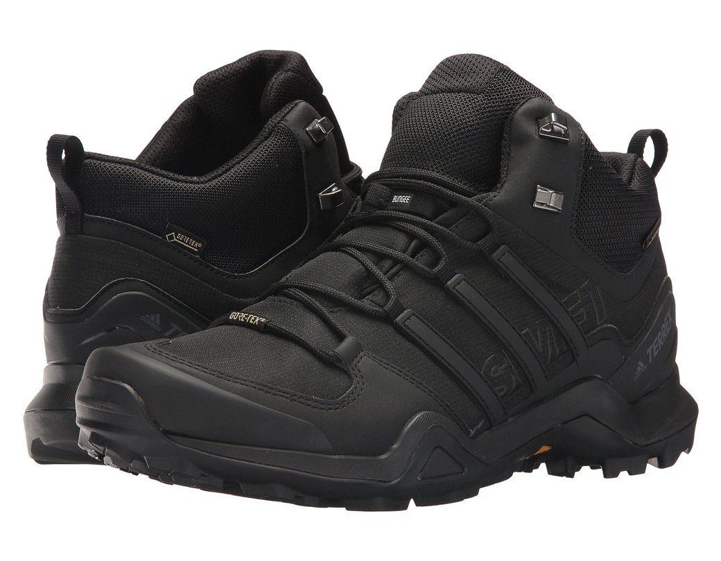 3014dd1bd Lyst - adidas Originals Terrex Swift R2 Mid Gtx(r) (black black ...