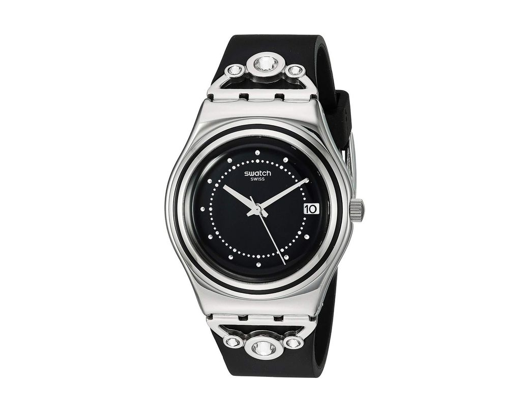 60bcb5a9966f Lyst - Swatch Queen s Fashion - Yls462 (black) Watches in Black ...