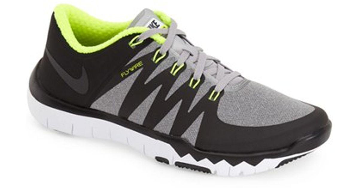 nike free trainer 50 amp training shoe in metallic for