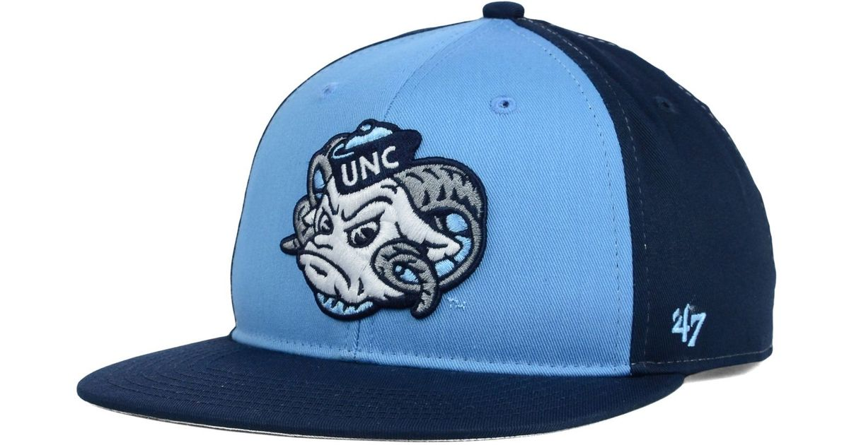 Lyst - 47 Brand Kids  North Carolina Tar Heels Snapback Cap in Blue ea8955844a74