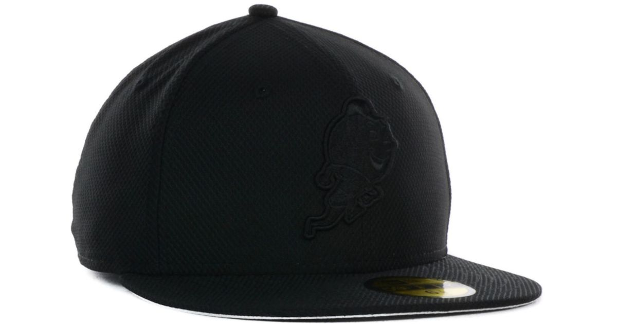 Lyst - Ktz New York Yankees Black Diamond Era 39thirty Cap in Black for Men 7fda78999ba3