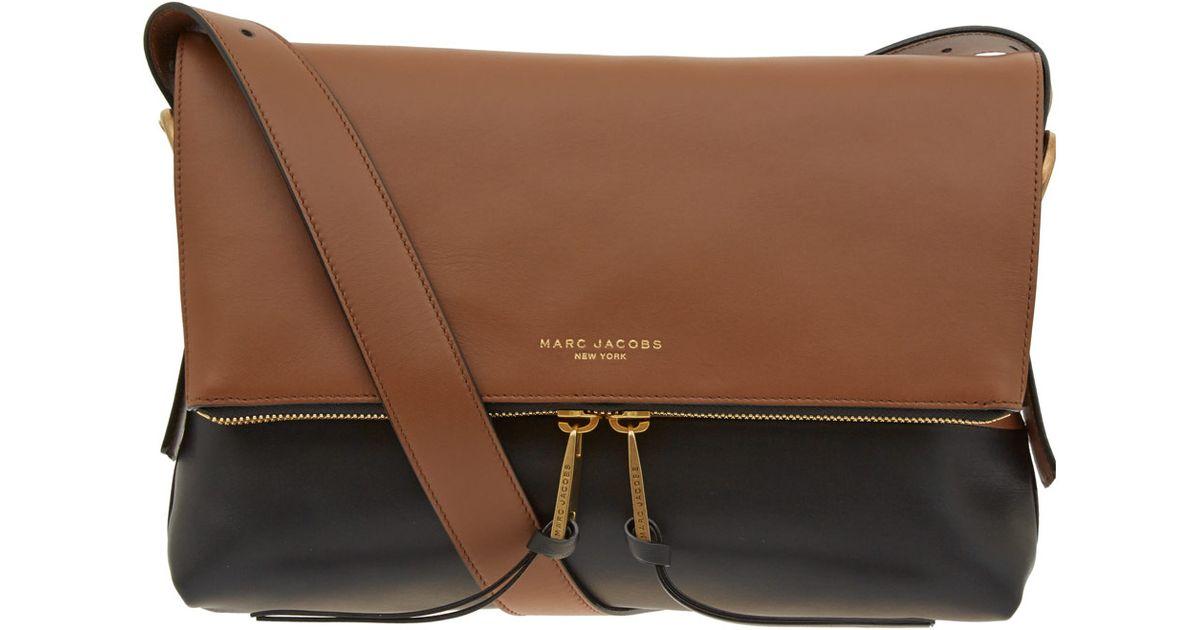 c8e3279e3f Marc Jacobs - Brown Maverick Leather Bag - Lyst