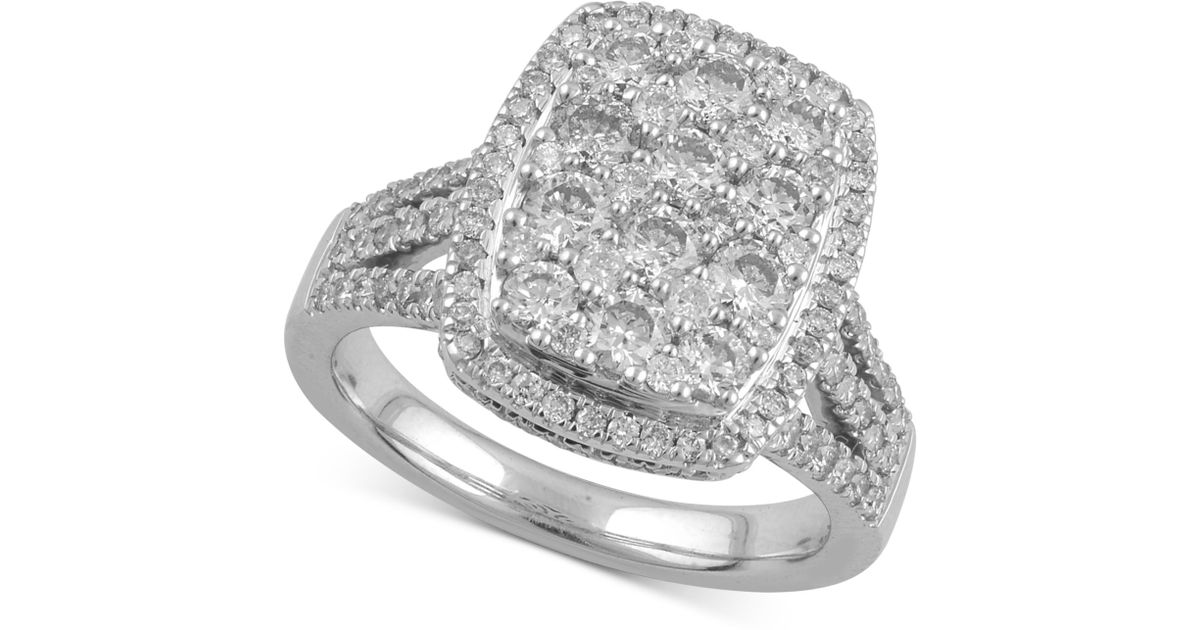 Halo Engagement Rings Macys