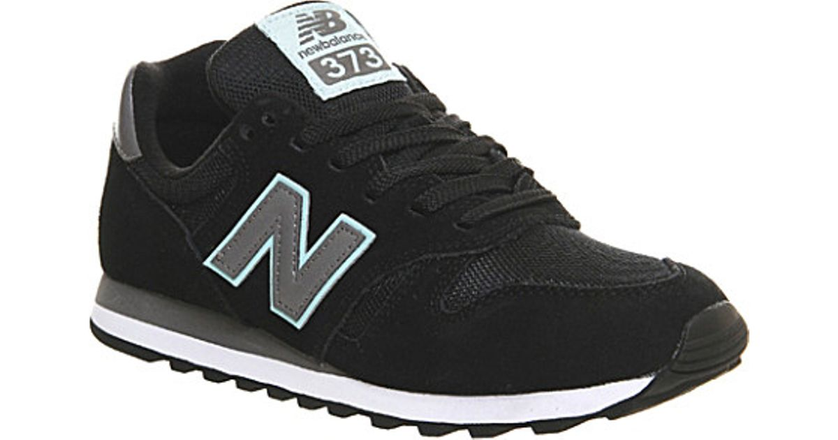new balance 373 suede & mesh trainers