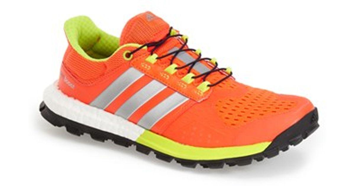 aa7041394b08c Lyst Adidas Originals Adistar Raven Boost Tm Trail Running Shoe