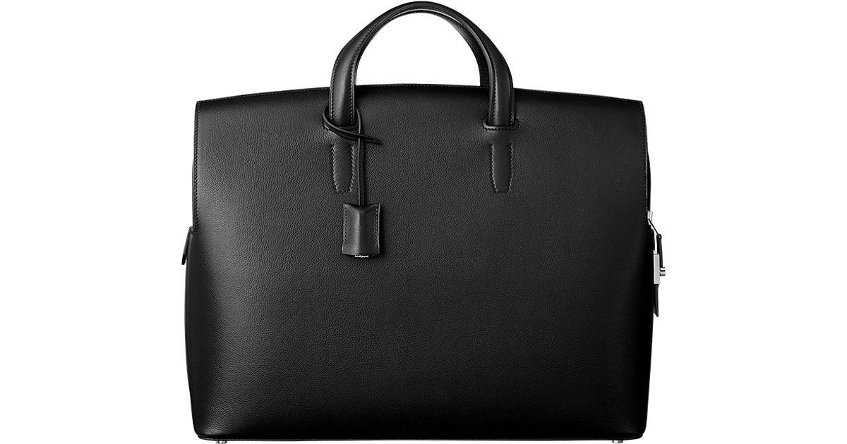 herme handbags - Herm��s Cityhall 38 in Black | Lyst