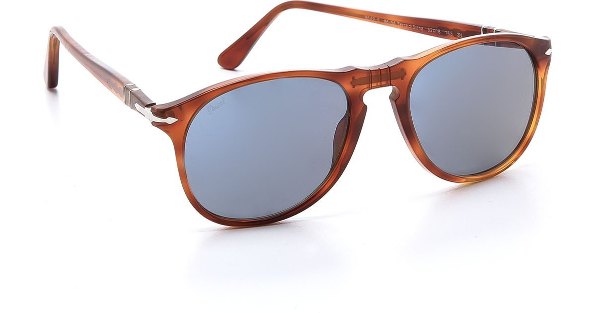 8132096d4c Lyst - Persol Classic Sunglasses in Orange for Men