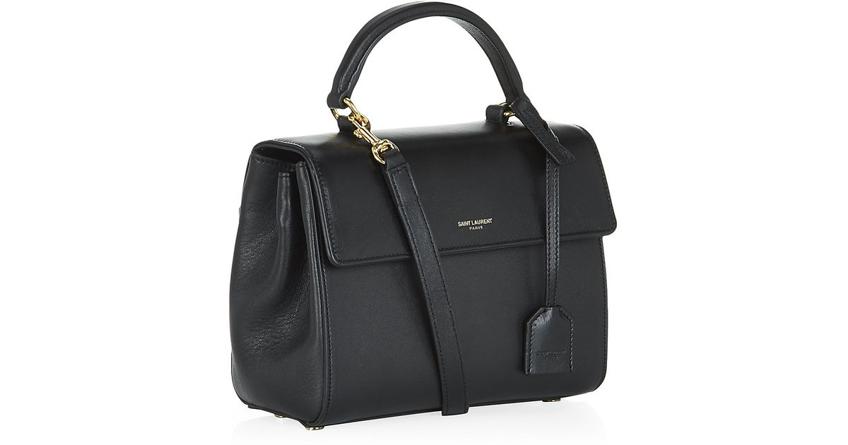 5ead716dce46 Saint Laurent Small Moujik Bag in Black - Lyst