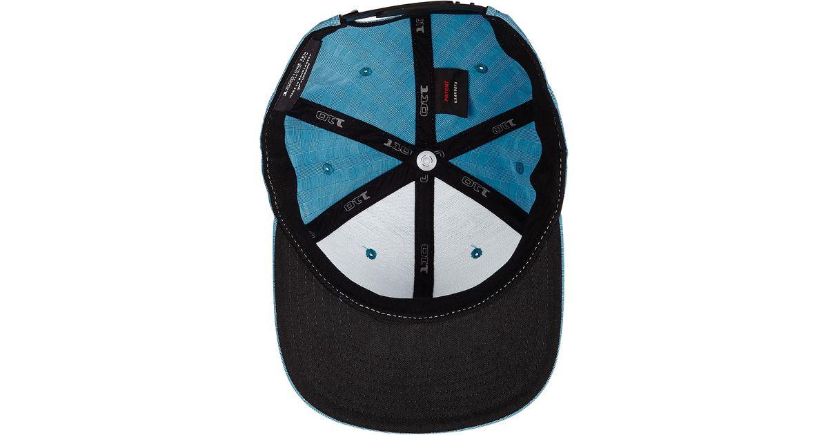 Lyst - Billabong Submersible 110 Flexfit Hat in Blue for Men 36cca5b53467