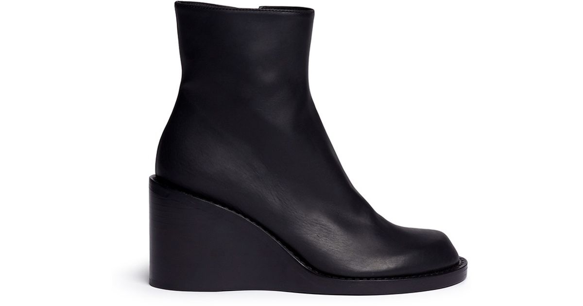 Ann Demeulemeester leather ankle boots sale 2014 unisex new styles for sale discounts cheap online for cheap discount Sa3rRnIzyk