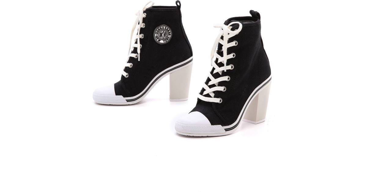 0f3b002a79638 Lyst - Opening Ceremony High Heel Sneakers in Black